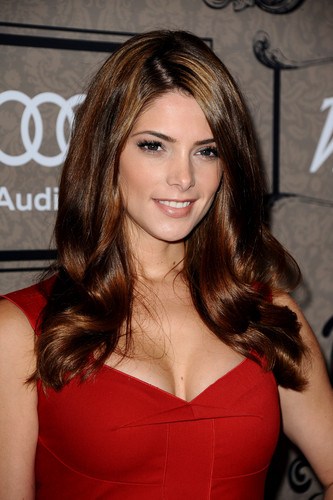 Ashley Greene wallpaper probably containing attractiveness, a cocktail dress, and a portrait entitled Variety's 4th Annual Power Of Women Event Presented By Lifetime, Beverly Hills