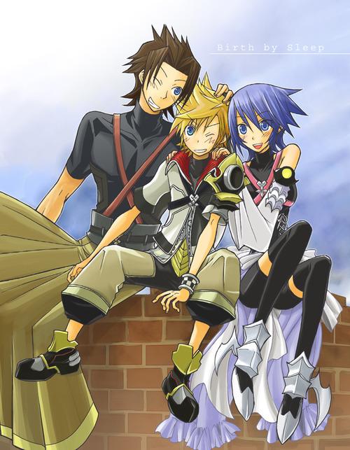 Ven, Terra and Aqua - Kingdom Hearts Fan Art (32342440 ...Terra And Aqua