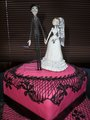 Victor & Victoria Wedding Cake - victor-van-dort-and-victoria-everglot photo