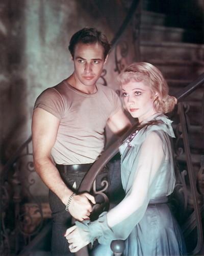 """Vivien Leigh and Marlon Brando """"A Streetcar Named Desire"""""""