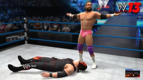 WWE '13: Damien Sandow vs Kane