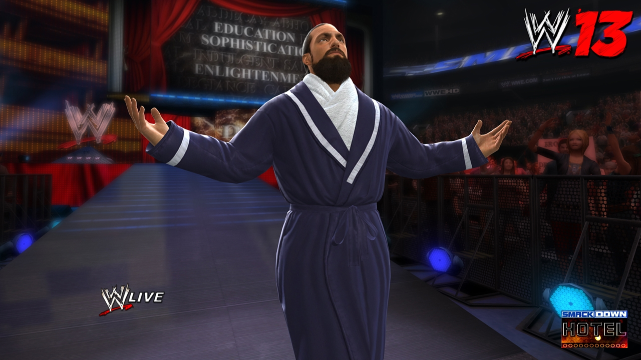 wwe 13 damien sandow wwe photo 32369478 fanpop