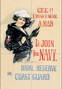 Feminism 壁紙 probably with アニメ entitled WWI Recruitment Poster