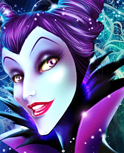 Walt ডিজনি অনুরাগী Art - Maleficent