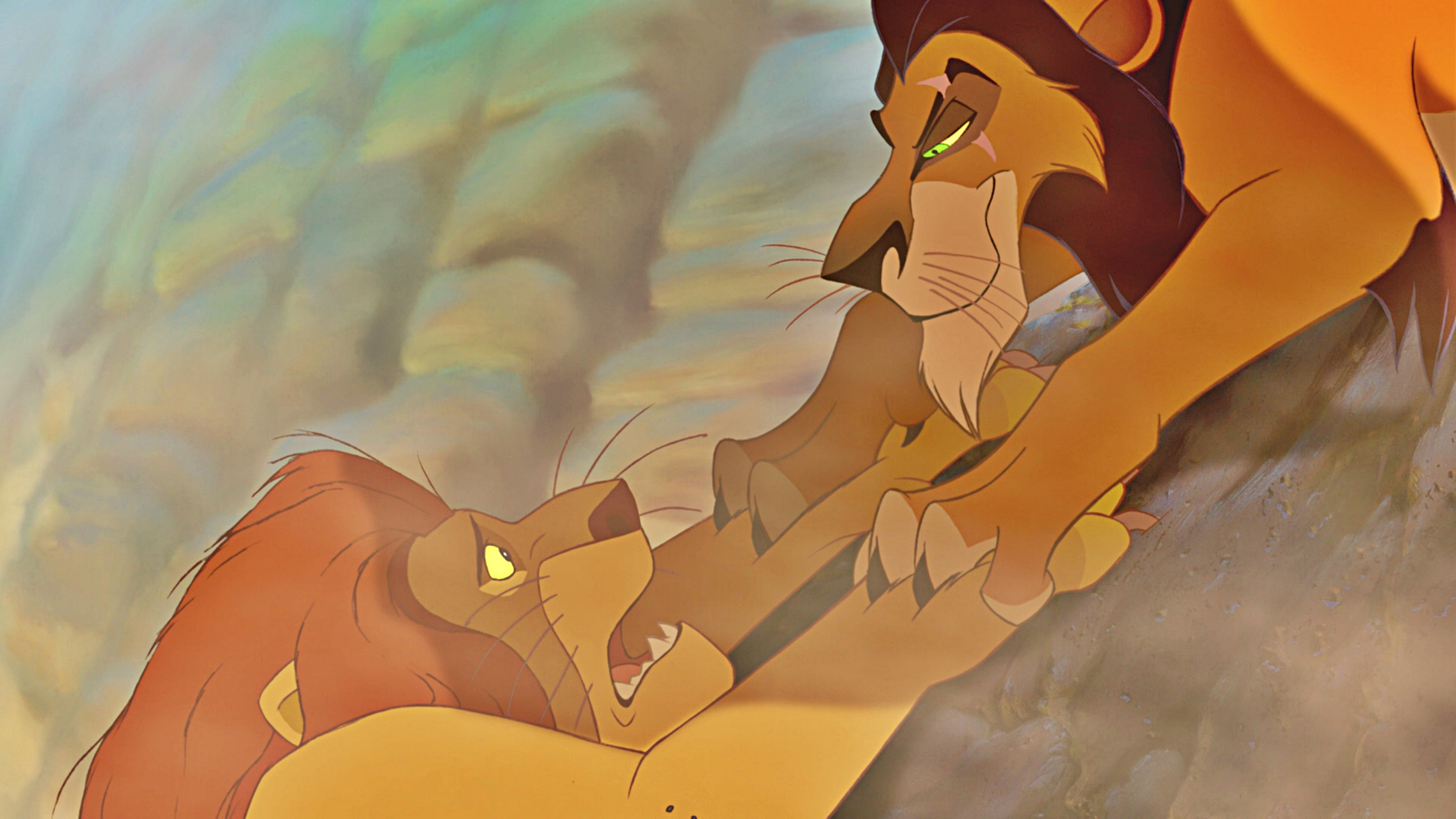The lion king mufasa and scar - photo#15