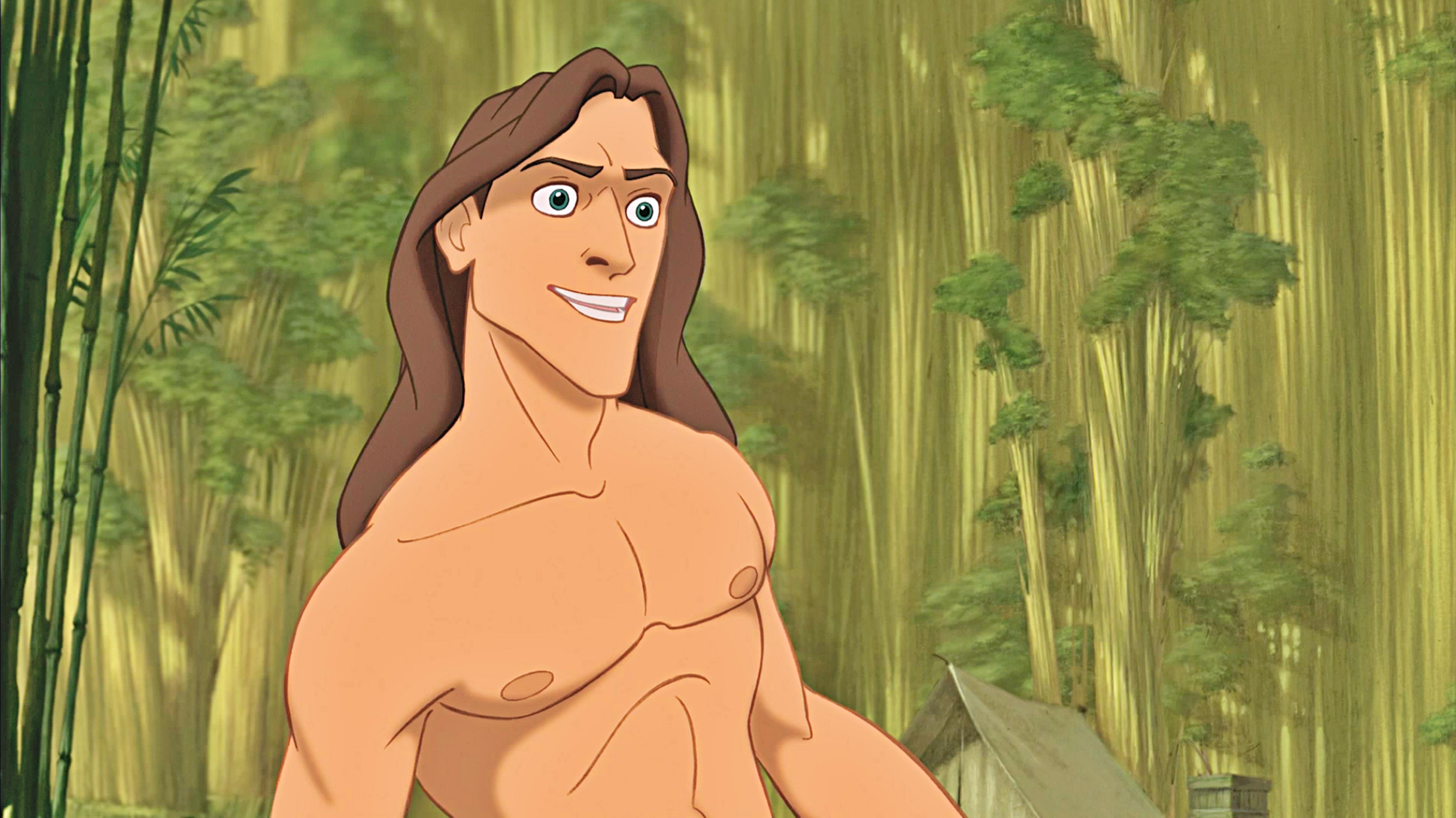Disney Character Design Tarzan : Linha quente da maddyrain junho