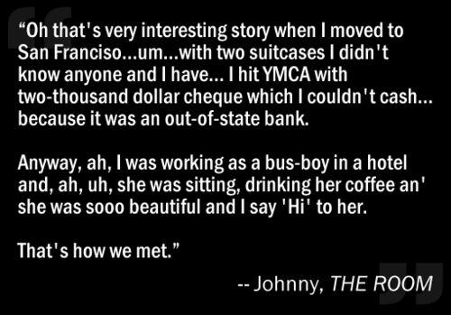 What a Story, Johnny!