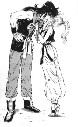 Yamcha X Bulma - First Kiss