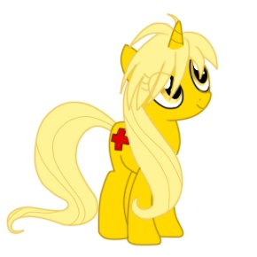 Yellow as a pony