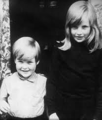 Young Diana And Her Younger Brother
