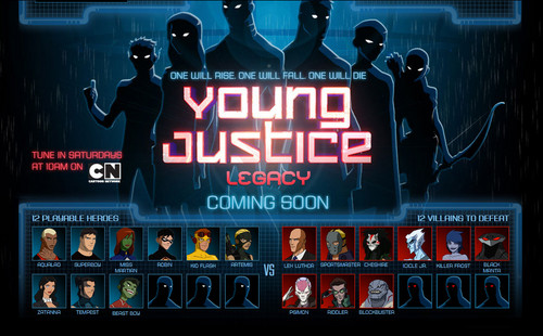 Young Justice legacy character reveals
