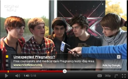 Youtube knows what One Direction does to us...