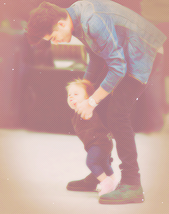 Zayn and Baby Lux