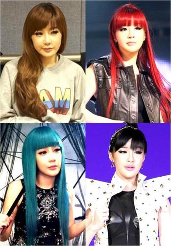 bom many hair colour