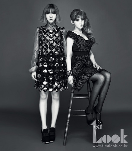 bom minzy 2NE1 1st look mag