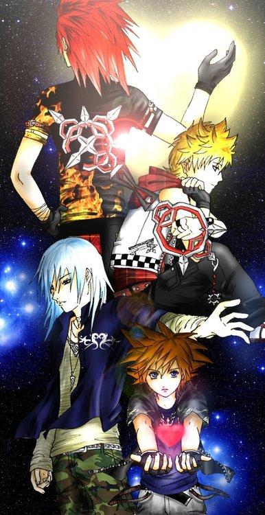 boys of kingdom hearts 2