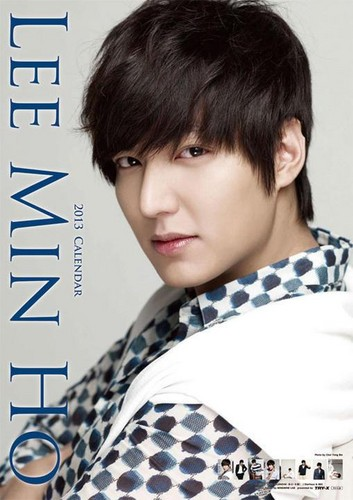 Lee Min Ho wallpaper possibly containing a portrait titled calendar