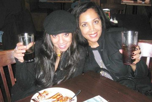 carol & valencia jackson marlon's wife & daughter - marlon-jackson Photo