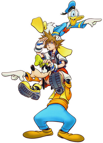 Kingdom Hearts karatasi la kupamba ukuta probably containing anime entitled chain of memories
