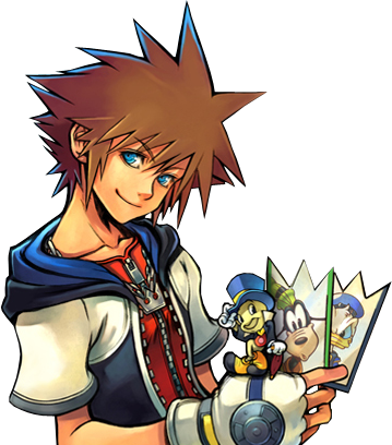 Kingdom Hearts wallpaper with anime called chain of memories