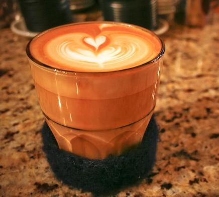cokelat cappuccino ♥ art