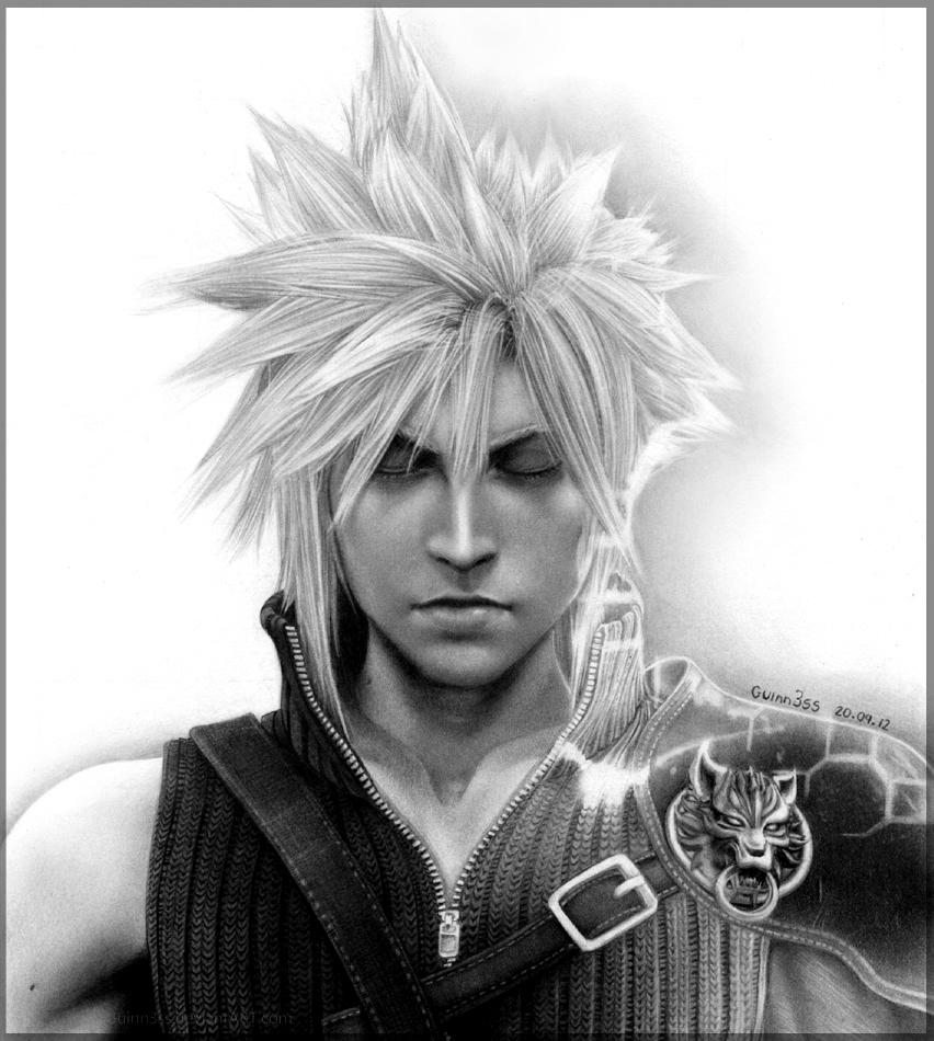 Cloud Strife Final Fantasy Fan Art 32349181 Fanpop