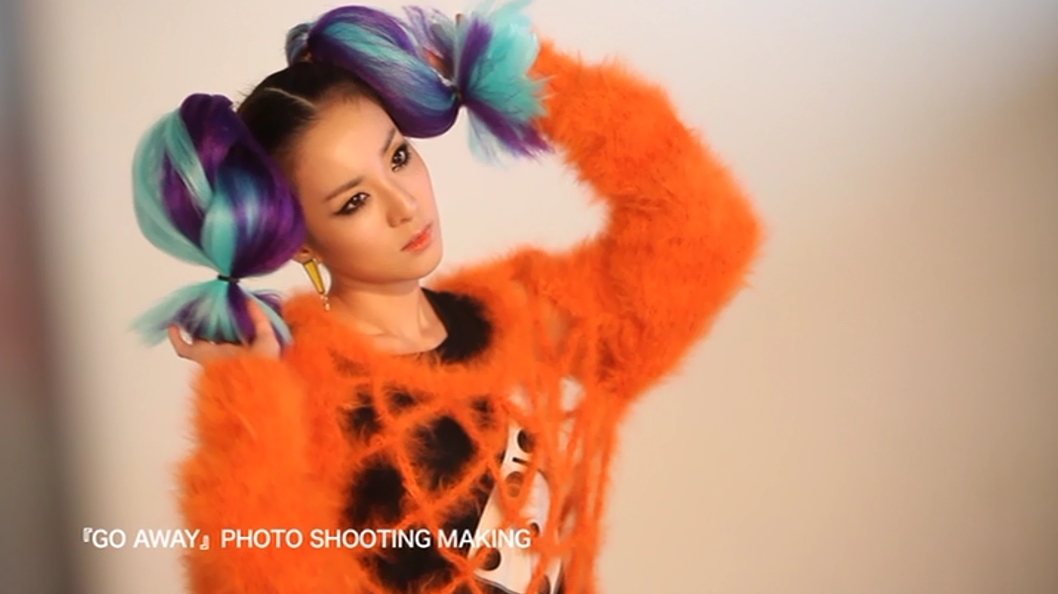 dara 2ne1 go away japan mv