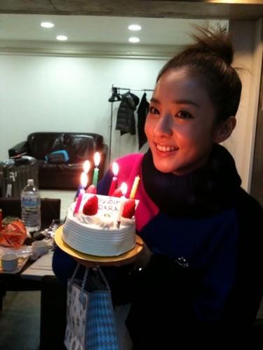 dara 2NE1 happy birthday