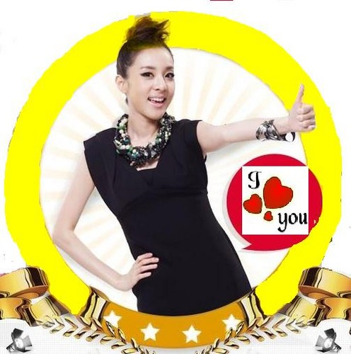 dara 2ne1 i love you circle
