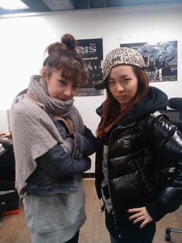 dara & bom 2 cute park sisters