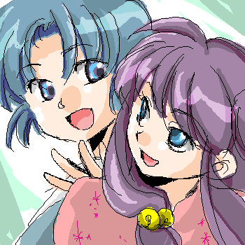ranma 1/2 friends shampoo and akane