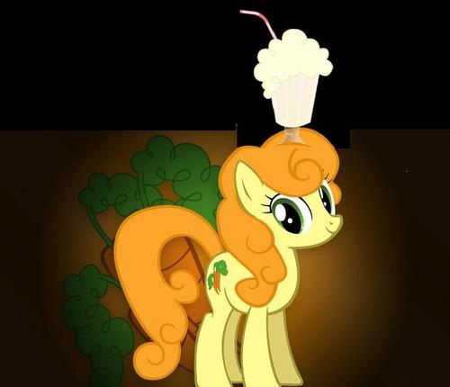 golden harvest with milkshake