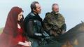 Melisandre, Stannis & Davos