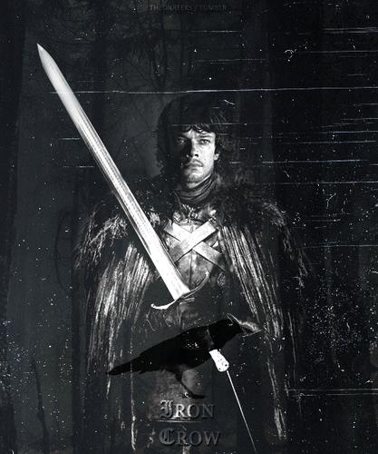Theon Greyjoy: AU where Theon takes the black