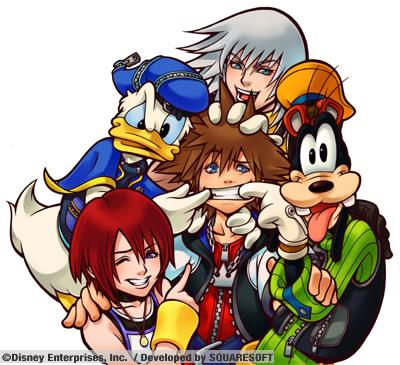 kingdom hearts wallpaper with anime titled group