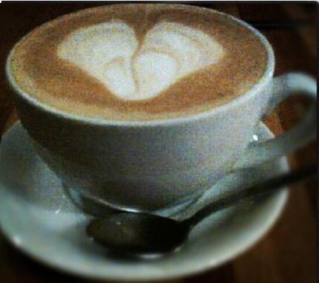 hot cokelat jantung art