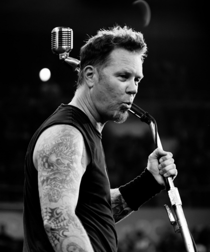James Hetfield fond d'écran entitled james