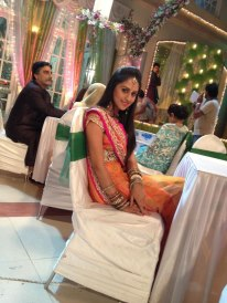 jeevika on maanvi's sangeet