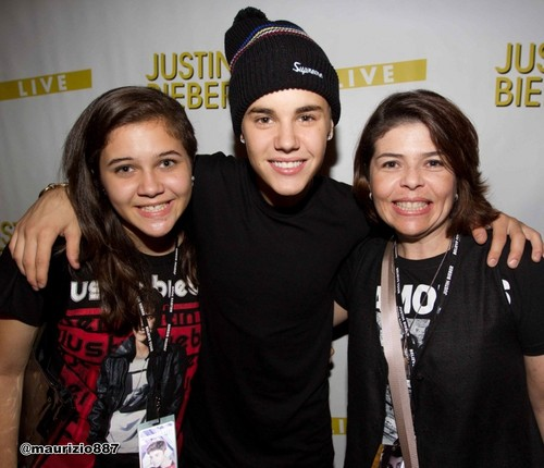 justin bieber,Meet & Greets at Staples Center, 2012