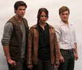 katniss, peeta and gale