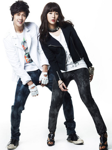 kim hyun joong with yoon eun hye