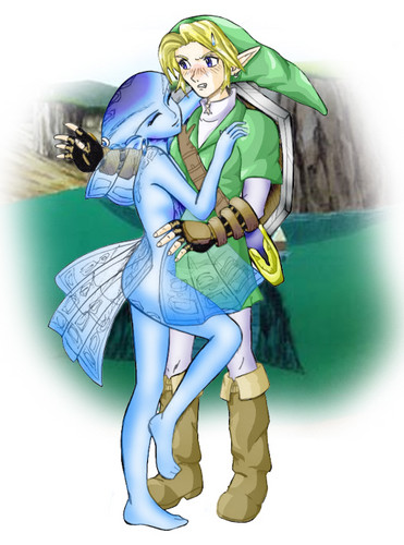 link and someone