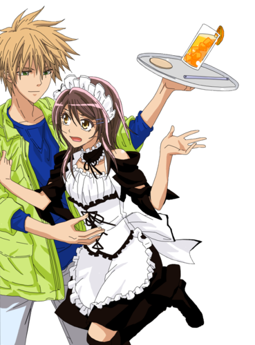 Kaichou wa Maid-sama wallpaper possibly with a fedora titled meh