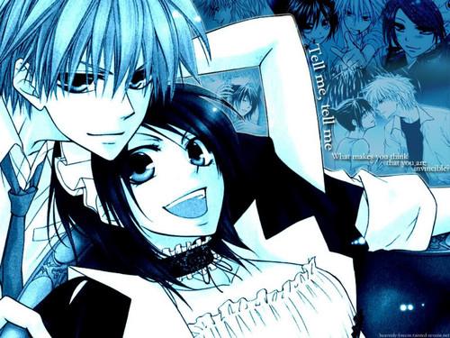 Kaichou wa Maid-sama wallpaper containing anime titled meh