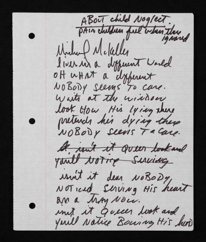 mj handwriting