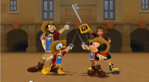 my fav trio is back count mickey in too XD