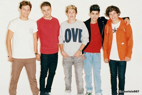 one Direction  Times Style Magazine - Sep 2012