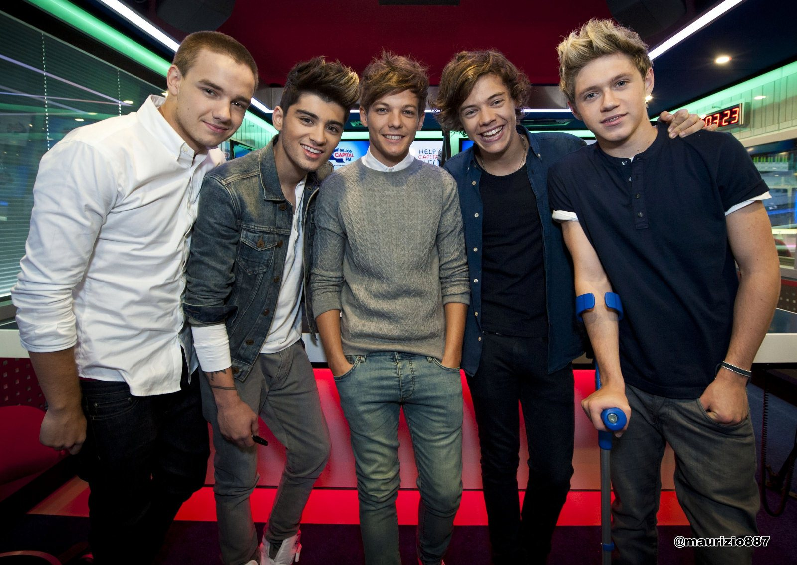 one direction,Capital Breakfast Show 2012