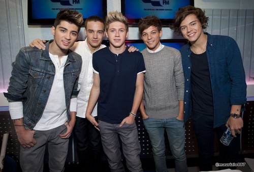 one direction,Capital Breakfast tunjuk 2012