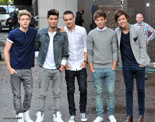 one direction,ITV Studios 2012